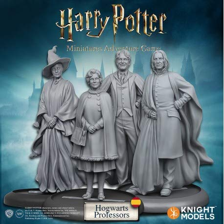 Knight Models HPMAG06 Harry Potter Miniatur-Abenteuerspiel: Hogwarts Professors Expansion Pack (Harry Potter Professor Snape)