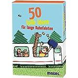 Moses 21086 - 50 tolle Ideen für lange Bahnfahrten, Kartenspiel