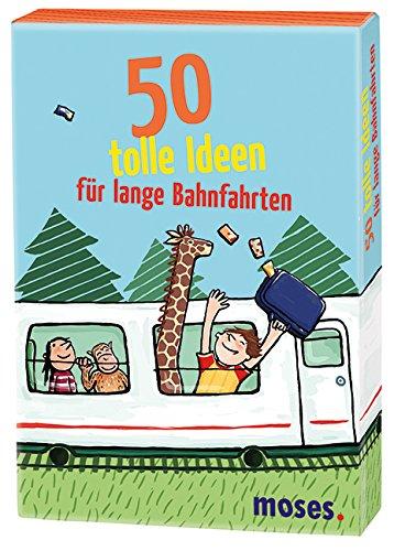 Preisvergleich Produktbild Moses 21086 - 50 tolle Ideen für lange Bahnfahrten, Kartenspiel