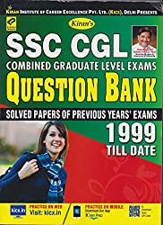 Kiran's SSC CGL Combined Graduate Level Exams Question Bank 1999 till Date (Solved Papers Of Previous Year Exams) - 2102