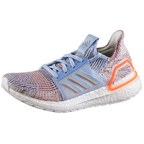 adidas Damen Ultraboost 19 w Laufschuhe, Blau Glow Blue/Hi/Res Coral/Active Maroon, 40 2/3 EU -