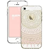 iPhone SE Case, ESR iPhone SE Hybrid Case [Shock Absorbing] TPU Bumper +[Scratch