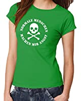 -- Normale Menschen machen mir Angst -- Girls T-Shirt