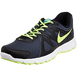 Nike Men's Revolution 2 Msl Anthracite,Volt,Black,White Running Shoes -9 UK/India (44 EU)(10 US)