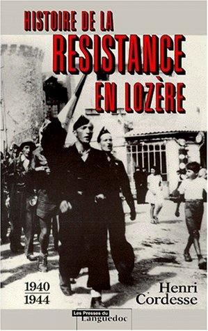 Histoire de la resistance en lozere
