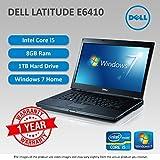 Refurbished Dell Latitude E6410 Core i5 8GB Ram 1TB DVD-ROM Windows 7 Laptop