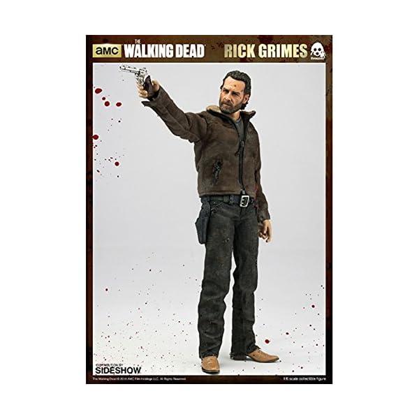 threeA SS902581 ThreeZero 1:6 Rick Grimes Figura - The Walking Dead 2