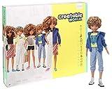 Creatable World GGG56 - Deluxe Charakter Set, individuell gestaltbare Puppe mit hellbraunen,...