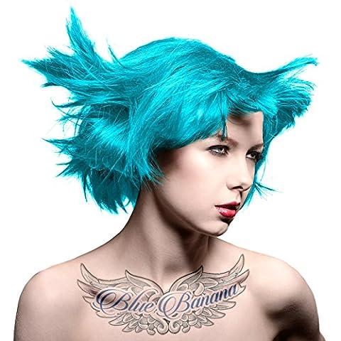 Manic Panic Amplified Coloration Pour Cheveux Semi-Permanente 118ml (Bleu Turquoise