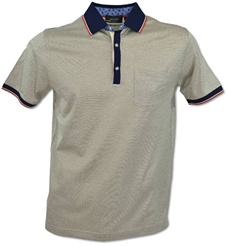 Carlo Colucci Polo-Shirt Khaki