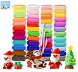 Air Dry Clay 48 Colors 26.4 Ounce, Modeling Clay with Tools and Manuals (750 Gram)