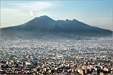 Poster 60 x 40 cm: Vesuv, der Vulkan von Neapel von Editors