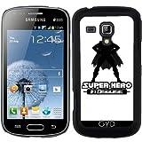 Coque pour Samsung Galaxy S Duos S7562 - Super-héros Sous Un Déguisement by Adamzworld