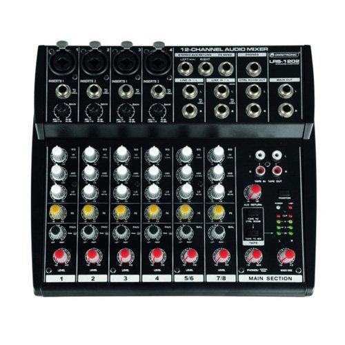Omnitronic 10040223 LRS-1202 Live-Recording-Mixer