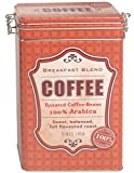 Kaffeedose Aromadose Dekodose Nostalgie Retro Stahlblech -Coffee- Breakfast Blend 7