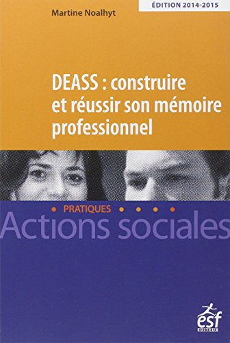 DEASS : construire et réussir son mémoire