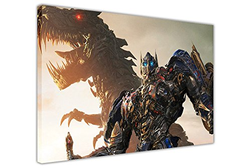 Transformers Movie Optimus Prime Leinwand Kunstdruck Wand Home Decoration Pictures 8- A1 - 30' X 24' (76CM X 60CM)