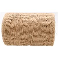 Cordel de yute, color 200 M 1mm 2 ply