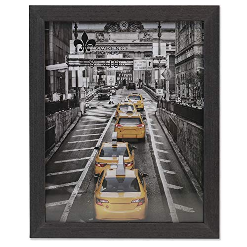 Lawrence Frames Soho Bilderrahmen, Holzmaserung, 20,3 x 25,4 cm, Schwarz