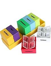 Bulfyss Plastic 7 Day Medicine Storage Case(Multicolour)