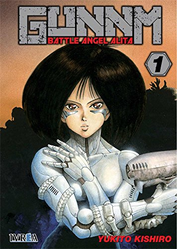 GUNNM 1 Battle Angel Alita editado por Ivrea