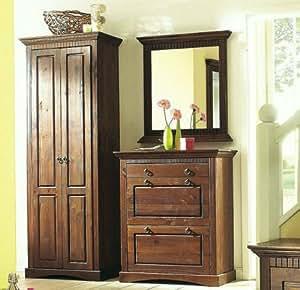 3tlg garderobenset kolonial dielenset flurm bel. Black Bedroom Furniture Sets. Home Design Ideas