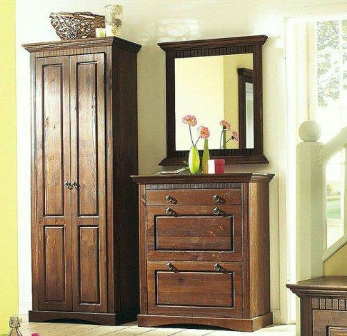 garderobenpaneel kolonial bestseller shop f r m bel und. Black Bedroom Furniture Sets. Home Design Ideas