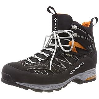 AKU Men's TENGU LITE GTX High Rise Hiking Boots, (Black/Orange 108), 10.5 UK 10.5 UK