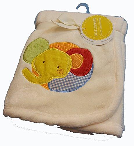 weiche Baby Jolly Jamboree Thema Zirkus Aufnäher Geschenk Buggy, moses Korb Decke