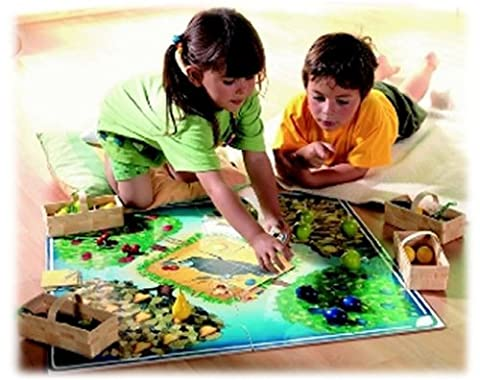 HABA Brettspiel Obstgarten-Bodenspiel