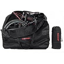 LKN Bolsa de Almacenamiento para Bicicleta, Plegable, Bolsa de Transporte con Bolsa, S04234
