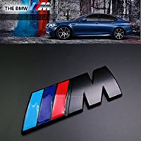 Hochwertiger Metallaufkleber/-emblem in Schwarz für Kofferraum