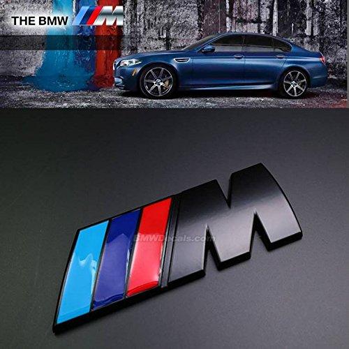 Preisvergleich Produktbild Hochwertiger Metallaufkleber / -emblem in Schwarz für Kofferraum