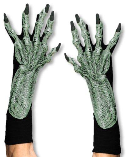 Knorrige Hexenhände als Handschuhe aus Latex