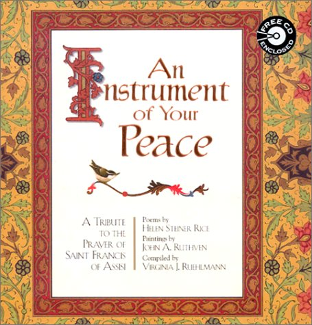 An Instrument Of Your Peace With Cd Audio