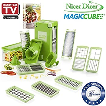 genius nicer dicer magic cube inkl gourmet ausstattung 31 teile schneiden. Black Bedroom Furniture Sets. Home Design Ideas
