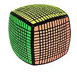 Ysss Deformación Facial de 20 facetas Descompresión Rompecabezas Cubo Rubik Cubo Decimotercero Ruby Beyond 11th Order