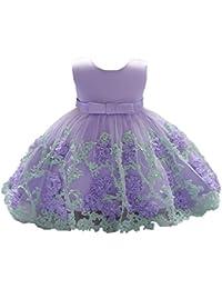 2feb982fa13 DAY8 Vêtements Bébé Fille Naissance Été Robe Bébé Fille Cérémonie Princesse  Mariage Baptême Fête 0-