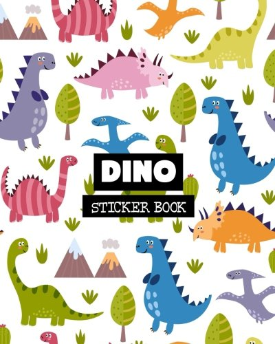 Dino: Sticker Book: Volume 6 por Ashworth Ava