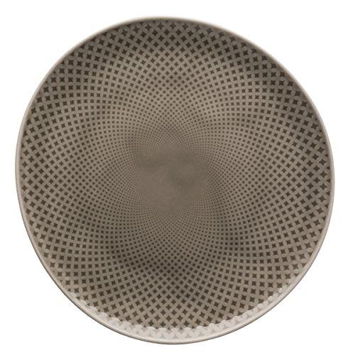 Rosenthal - Junto - Pearl Grey - Teller/Essteller/Speiseteller - flach - Ø 22 cm - Porzellan Ocean Blue Teller