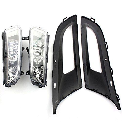 HTAIYN Lámparas de parrilla delantera izquierda/derecha parrilla luz antiniebla for VW Polo MK8 6R 09-11 Accesorios para herramientas