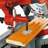 Einhell Universal-Kapp-Gehrungssäge m. Untergestell für Metall RT-XM 305 U, Plastik und Holz, 1.800 W, doppelt gelagerte Zugfunktion, Softstart -