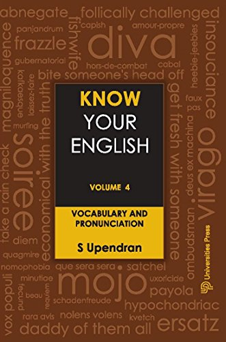 Know Your English - Vol. 4: Vocabulary and Pronunciation