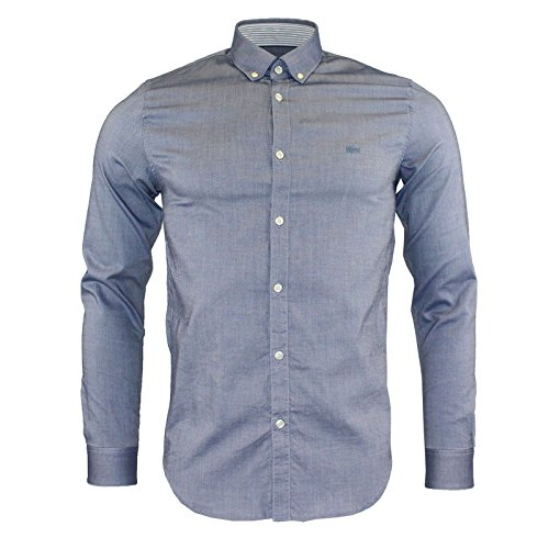 CAMICIA SLIM FIT IN COTONE PINPOINT STRETCH TINTA UNITA - 95322 - 240 (Pinpoint Fit Slim)