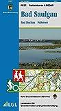 Bad Saulgau, Bad Buchau Federsee: Karte des Schwäbischen Albvereins (Freizeitkarten 1:50000)