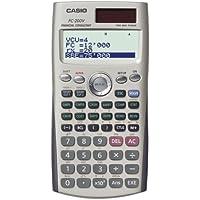 Casio fc-200 V calculadora financiera