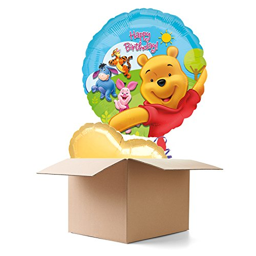 Ballongrüsse HB, Winnie the Pooh, 2 Ballons (Winnie The Pooh Themen Kostüme)