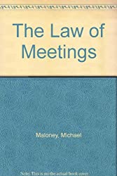 The Law of Meetings
