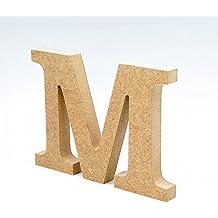 Detalles Infantiles - Letra madera manualidades 20cm M