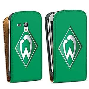 Samsung Galaxy S3 mini Tasche Hülle Flip Case Werder Bremen Fanartikel Fussball